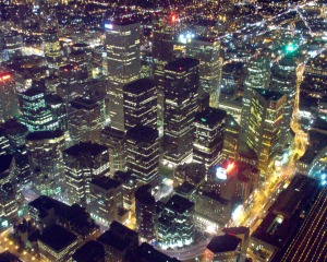 Toronto Vertical City DowntownCore
